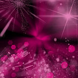 Pink and black bokeh background