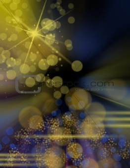 Background with colorful lights