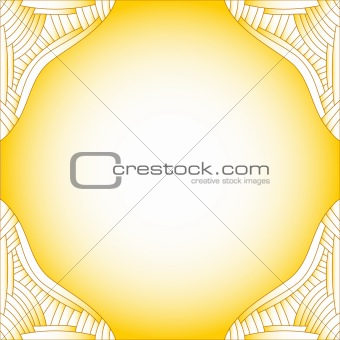 Beautiful yellow and white background