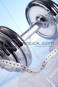 Measuring of dumbbell