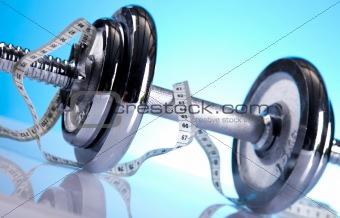 Fitness, dumbell