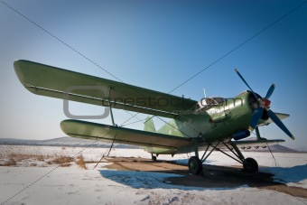 Anton's ÀÍ2 plane in the winter