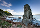 Russian, Primorye, beautiful sea rock