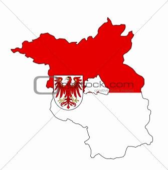 brandenburg map