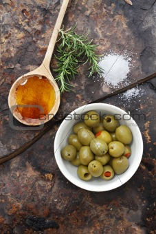 Olives, Oil and Salt
