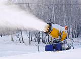 Working snowgun