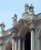 Arch antique statues in Rome