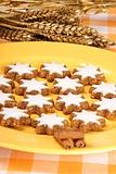 Cinnamon star cookies, Zimtsterne
