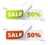 Red and green sale coupons