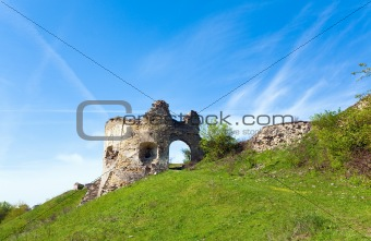 Ancient fortress ruins