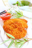 Fried chili chicken breast