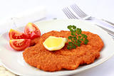 Wiener Schnitzel with lemon