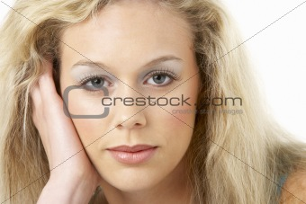 Portrait Of Young Woman Looking At Camera