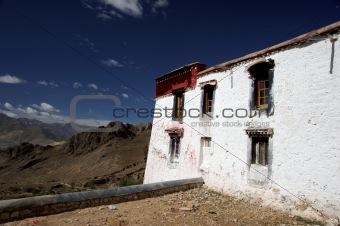 Tibetan monastery in Himalaya