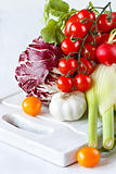 Garden vegetables.