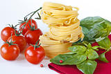 Pasta tagliatelle.