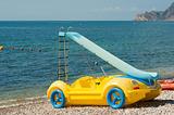 Fancy pedal boat