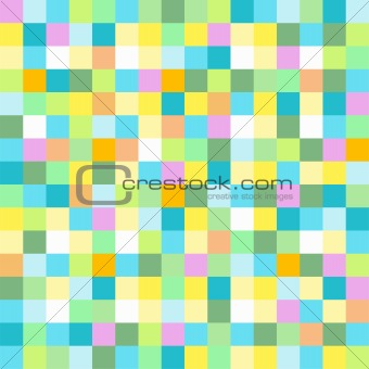 Abstract colored mosaic box for background wallaper