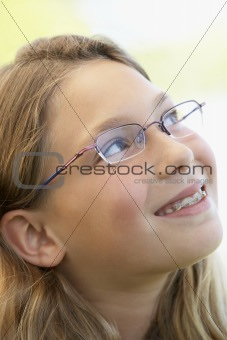 Kids Portraits, Girl, Happy, Smiling, Braces, Happiness, Kids, H