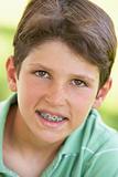 Kids Portraits, Boy, Happy, Smiling, Braces, Kids, Headshot, Por
