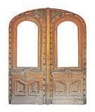 aged doors
