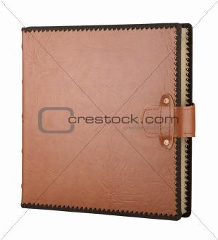 Album in leather cover