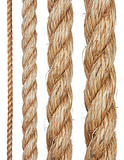 Set of various ropes