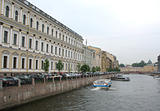 City street and building. St.Peterburg 