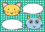 Cats talk