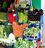 Vegetable Stall at Greengrocer