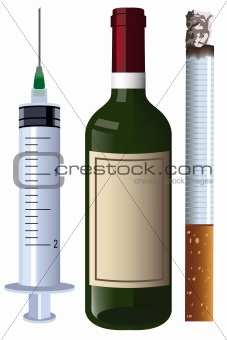 wine syringe cigarette