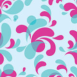 water design elements - seamless pattern
