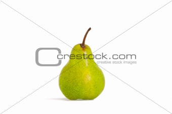 single green pear