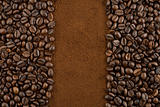 coffee beans ground coffee