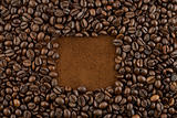 coffee beans square