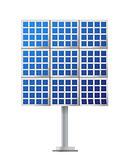 Solar Panel illustration design over a white background