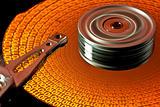 read data on hard disk - one-zero
