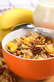 Wholewheat Cereal with Banana and Nuts