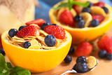 Wholewheat Cereal with Fresh Fruits