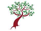 Family tree, relatives illustration design isolated over a white background