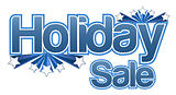 Holiday sale illustration
