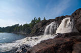 Waterfall on the Muskoka River
