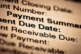 payment due date bill