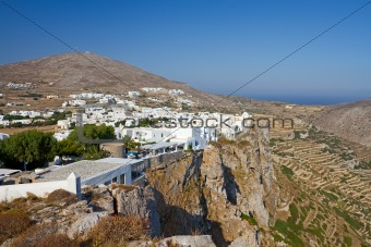 Folegandros Town, Greece