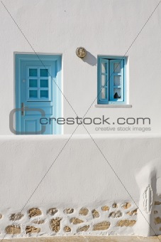 Greek Island Door and Window