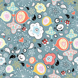 abstract pattern with cheerful drops