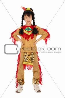 Little indian boy