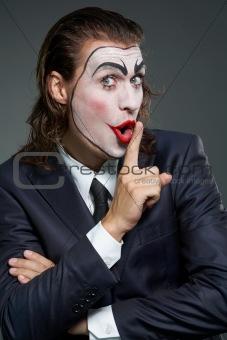 Business clown