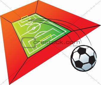 Football or Soccer Stadium