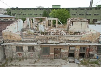Old demolished building